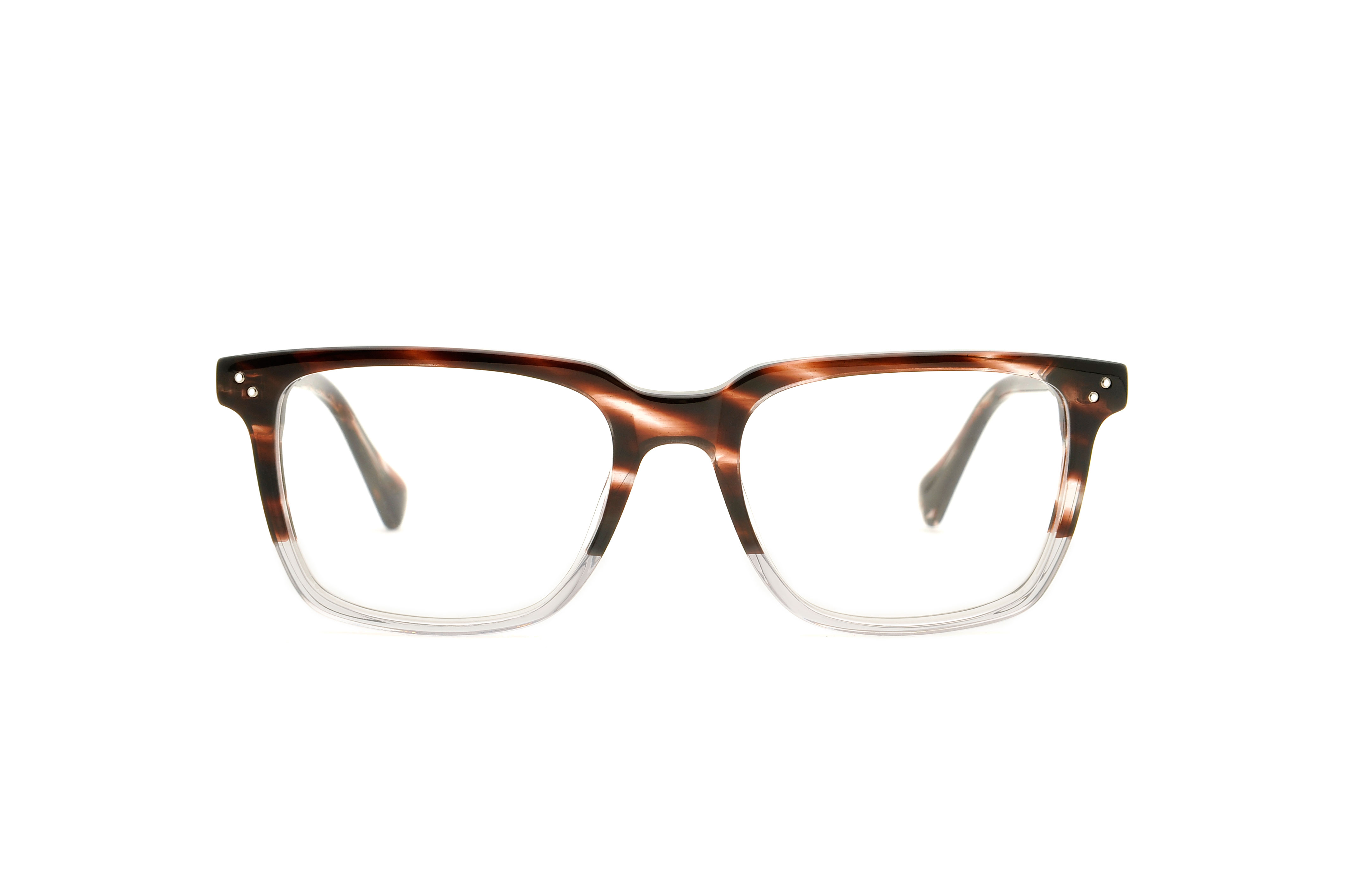 Prince acetate squared brown sunglasses by GIGI Studios