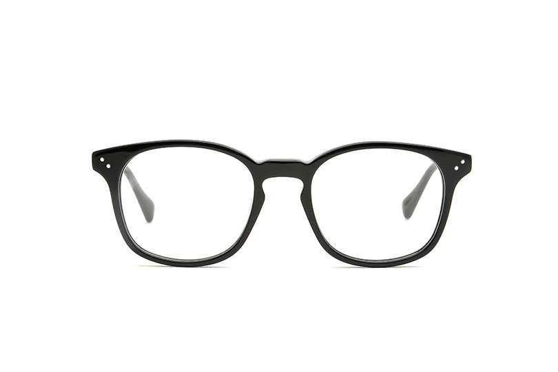 Coltrane acetate squared black sunglasses by GIGI Studios