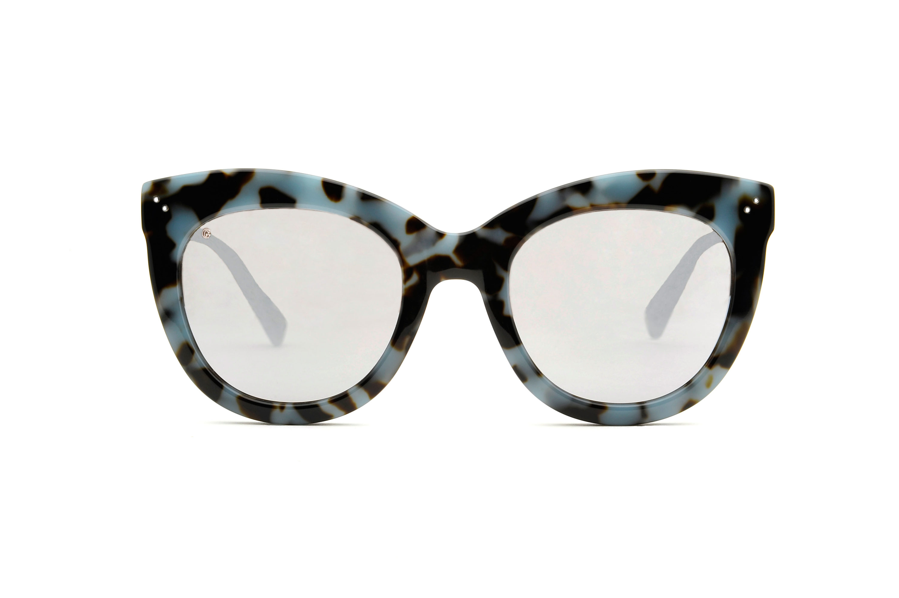 Angel acetate cat eye tortoise sunglasses by GIGI Studios