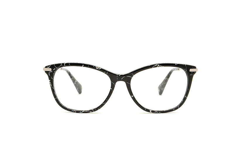 Rita acetate cat eye black sunglasses by GIGI Studios
