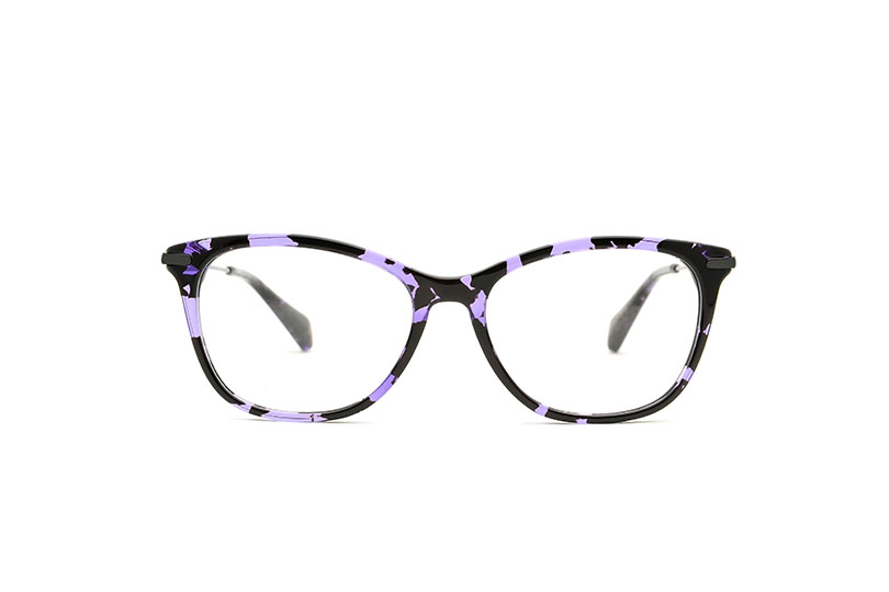 Rita acetate cat eye purple sunglasses by GIGI Studios