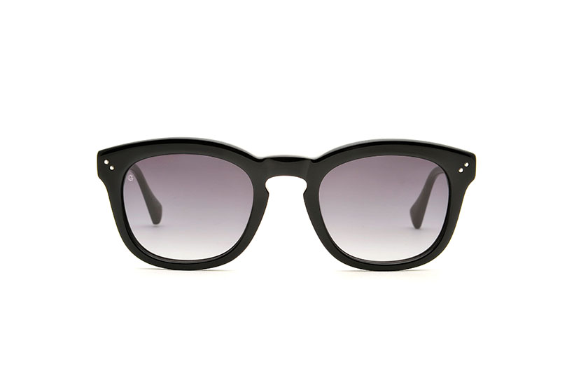 Young acetate squared black sunglasses by GIGI Studios