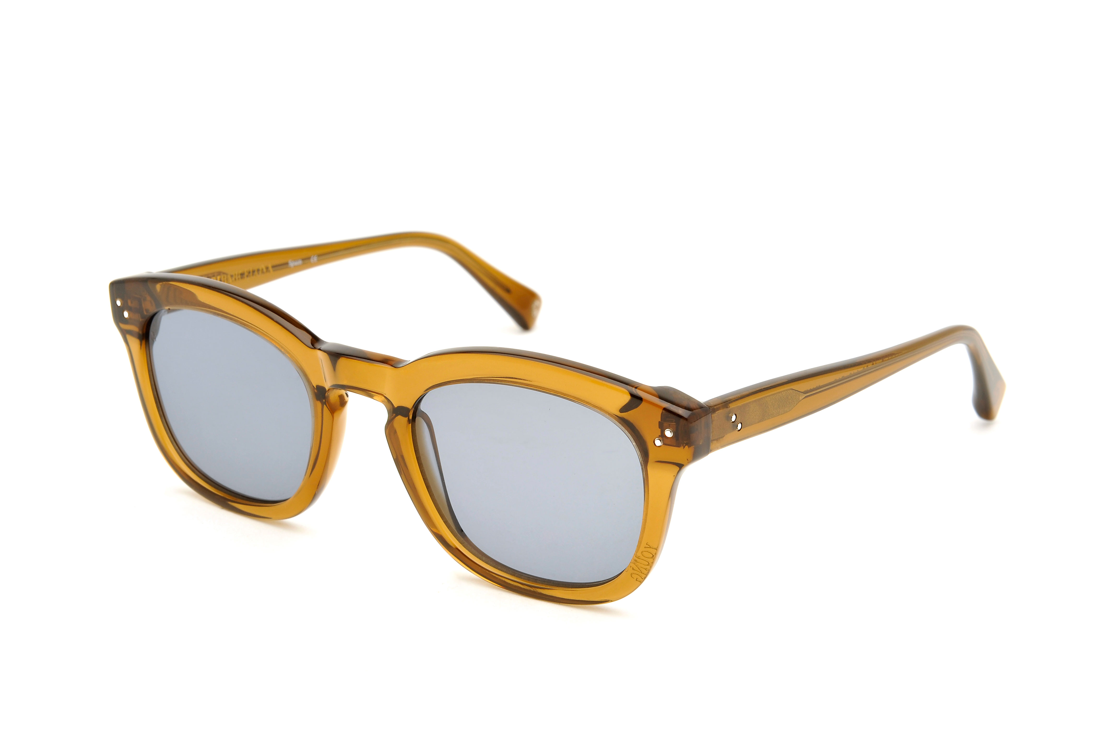 Young acetate squared brown sunglasses by GIGI Studios