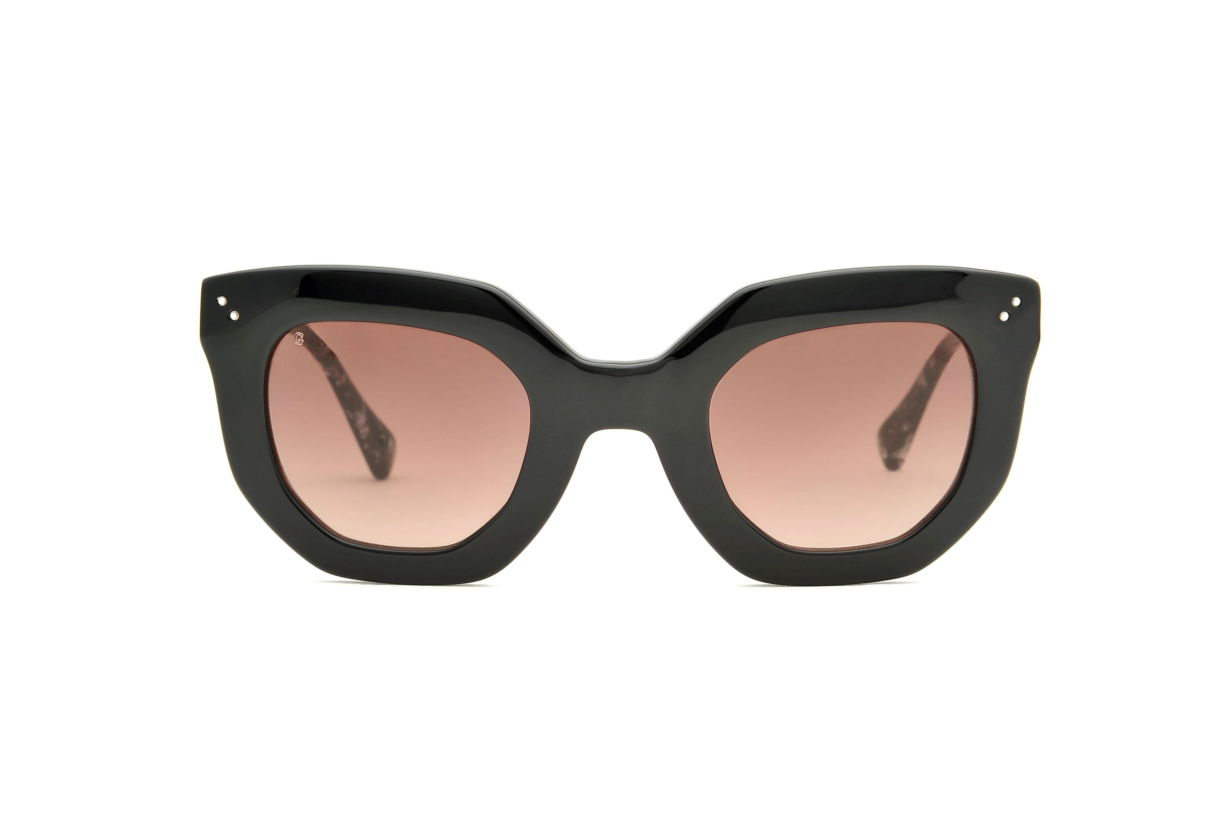Juliette acetate cat eye black sunglasses by GIGI Studios