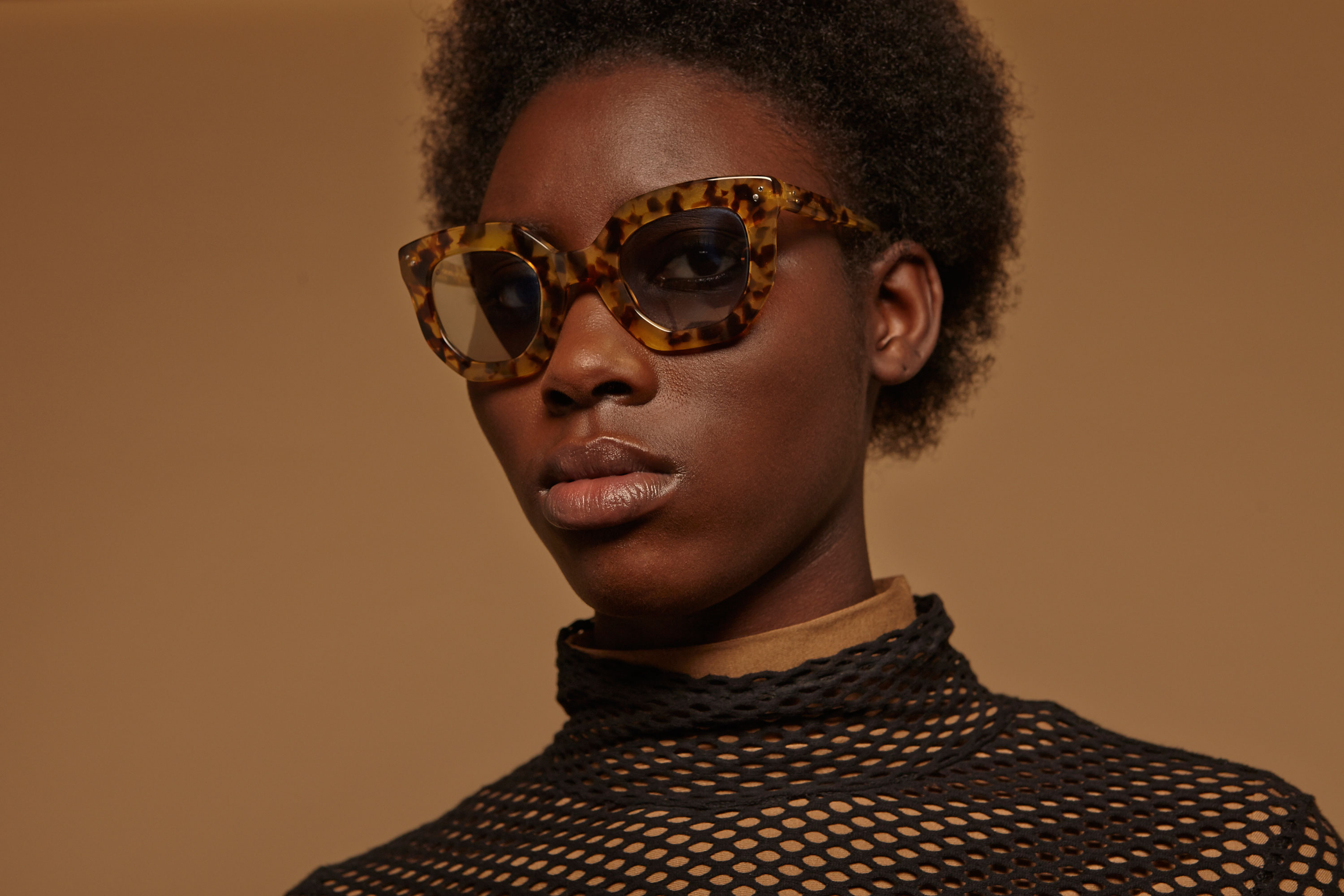 Juliette acetate cat eye tortoise sunglasses by GIGI Studios