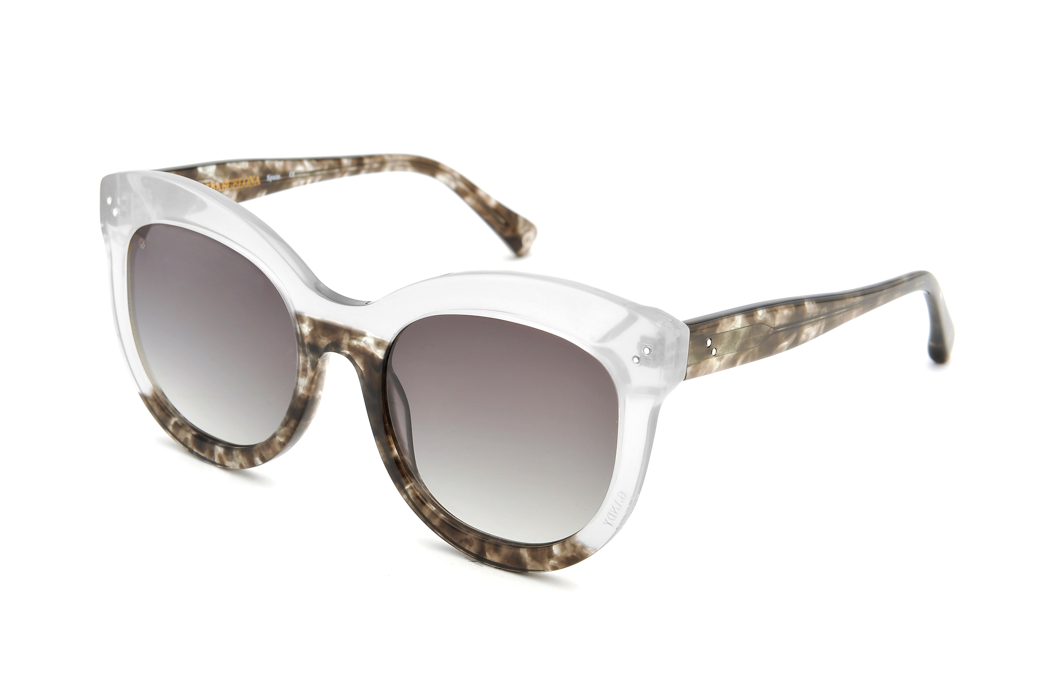 Candy acetate cat eye crystal sunglasses by GIGI Studios