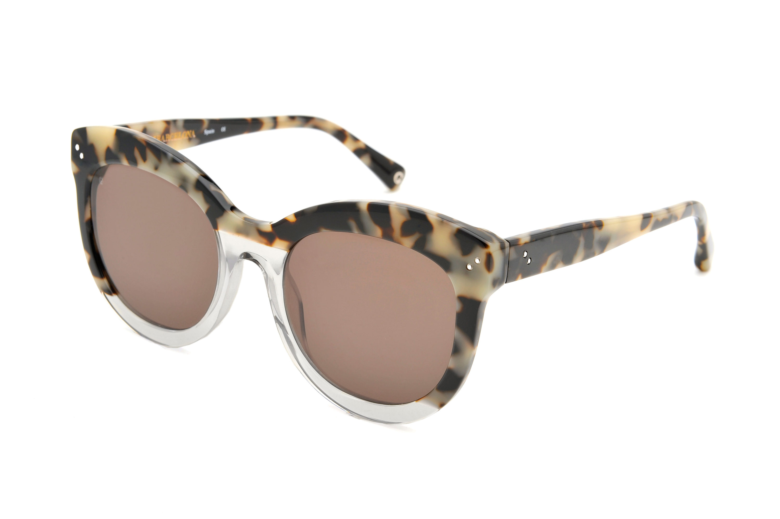 Candy acetate cat eye tortoise sunglasses by GIGI Studios