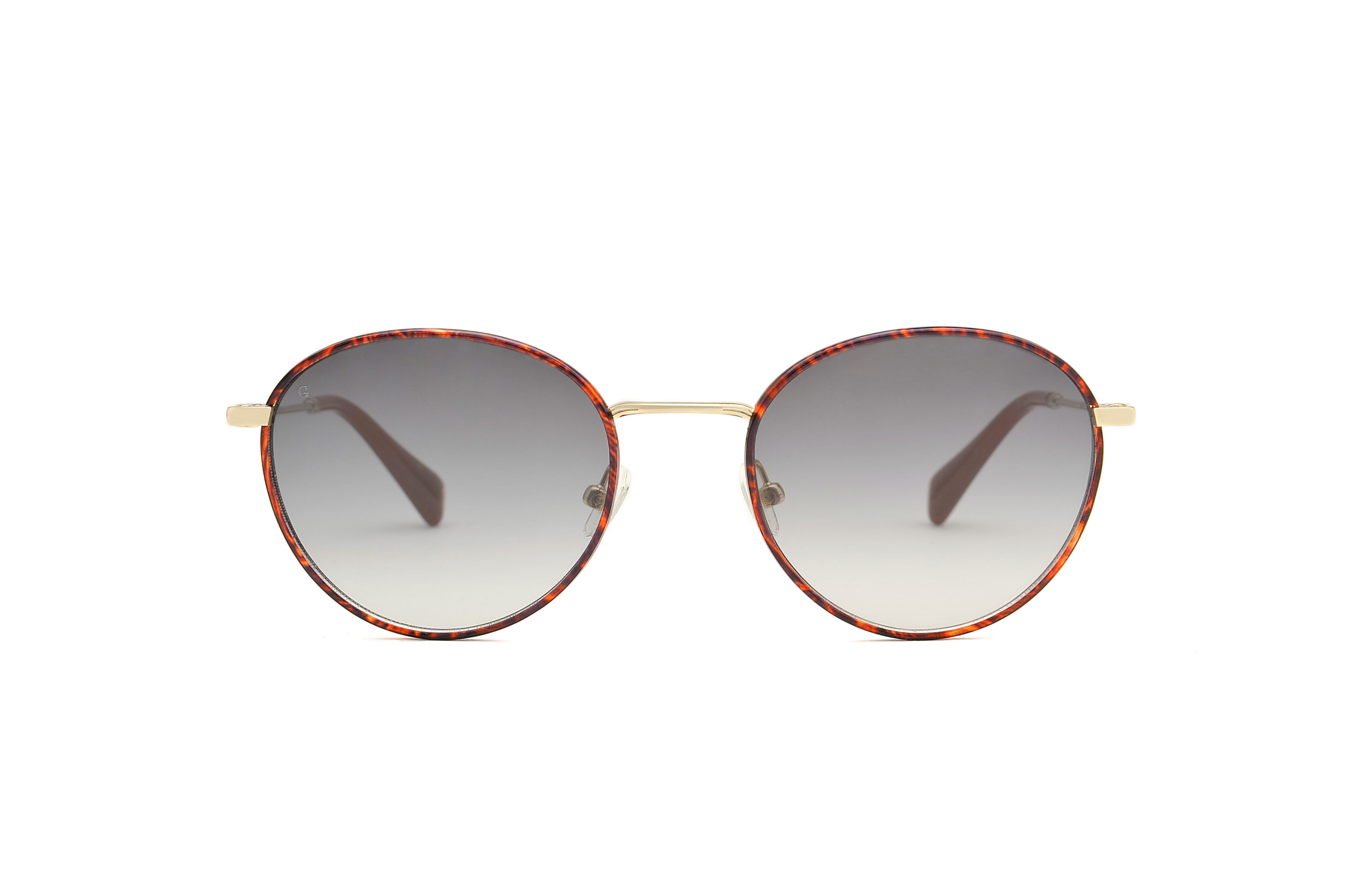 Ubud metal rounded tortoise sunglasses by GIGI Studios