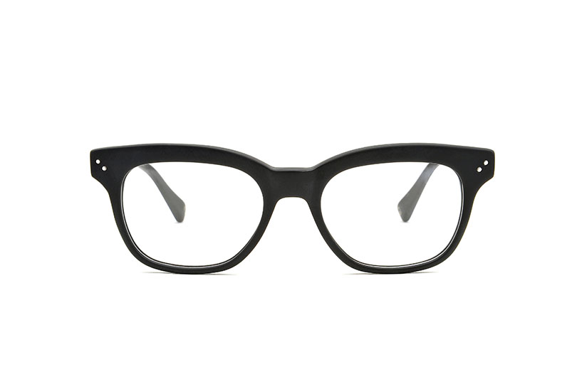 Damien acetate squared black sunglasses by GIGI Studios
