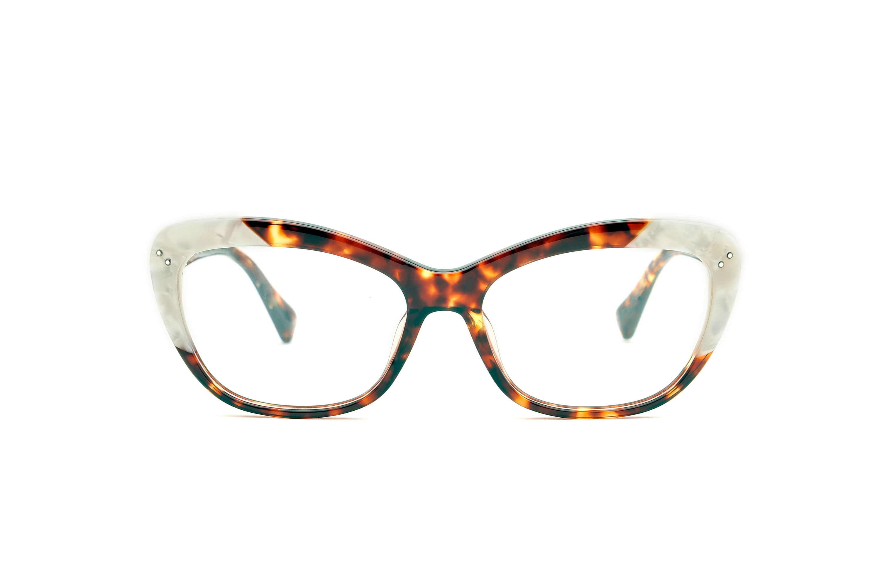 Sunshine acetate cat eye tortoise sunglasses by GIGI Studios