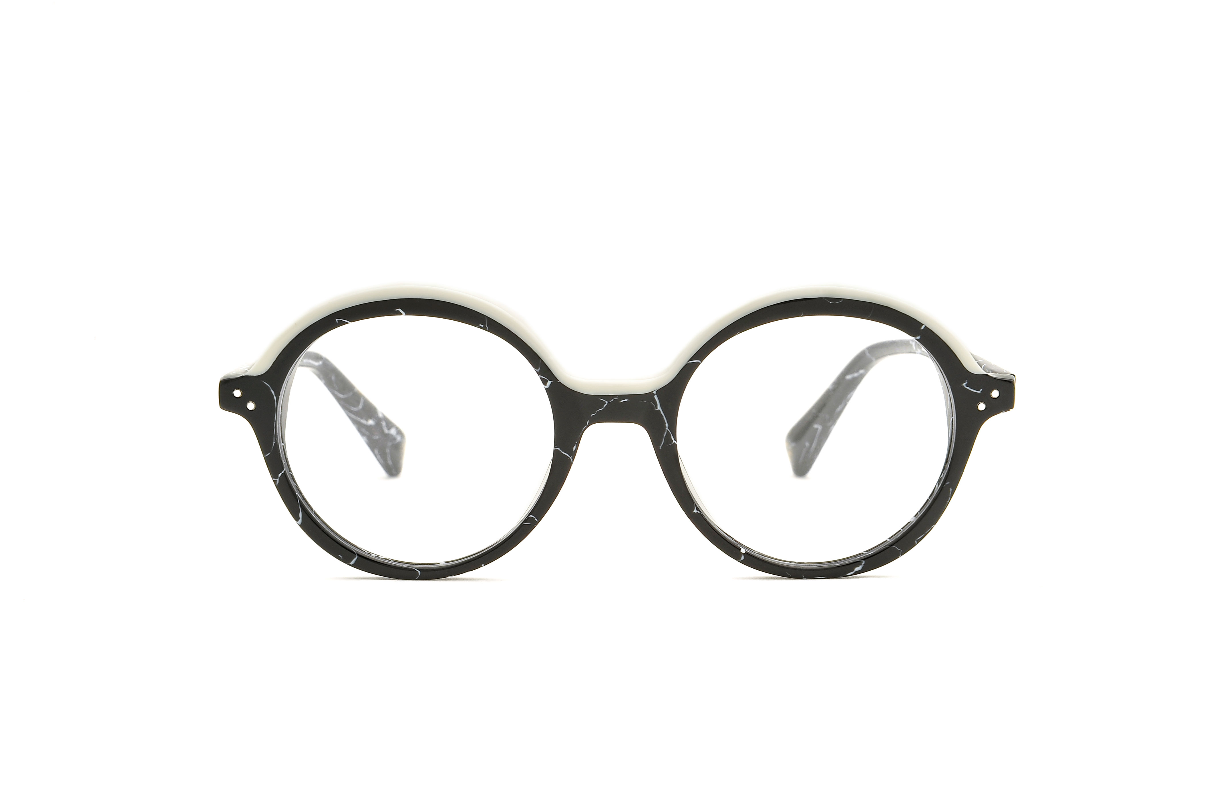 Dalston acetate rounded black sunglasses by GIGI Studios