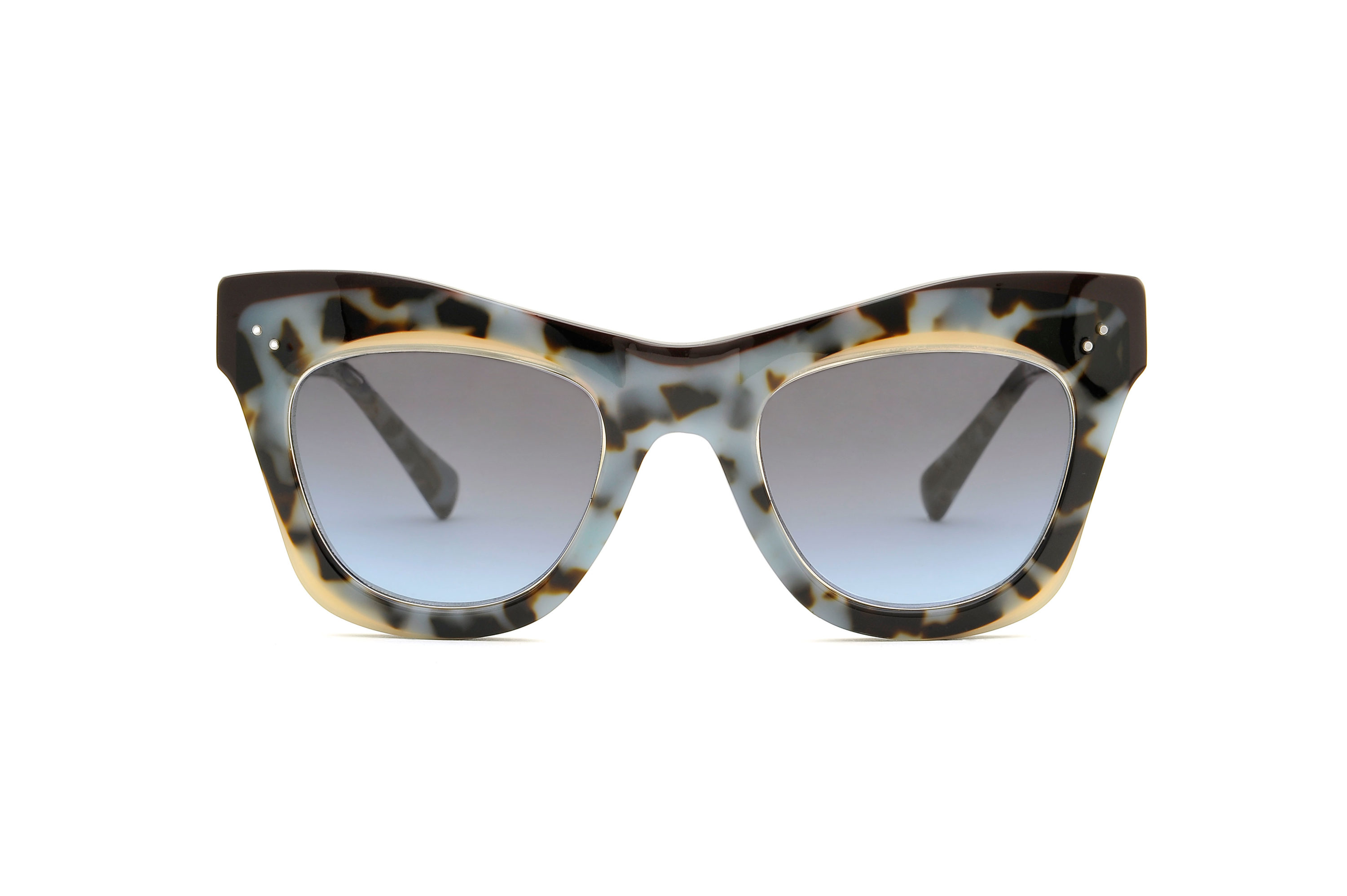 Onix acetate cat eye tortoise sunglasses by GIGI Studios
