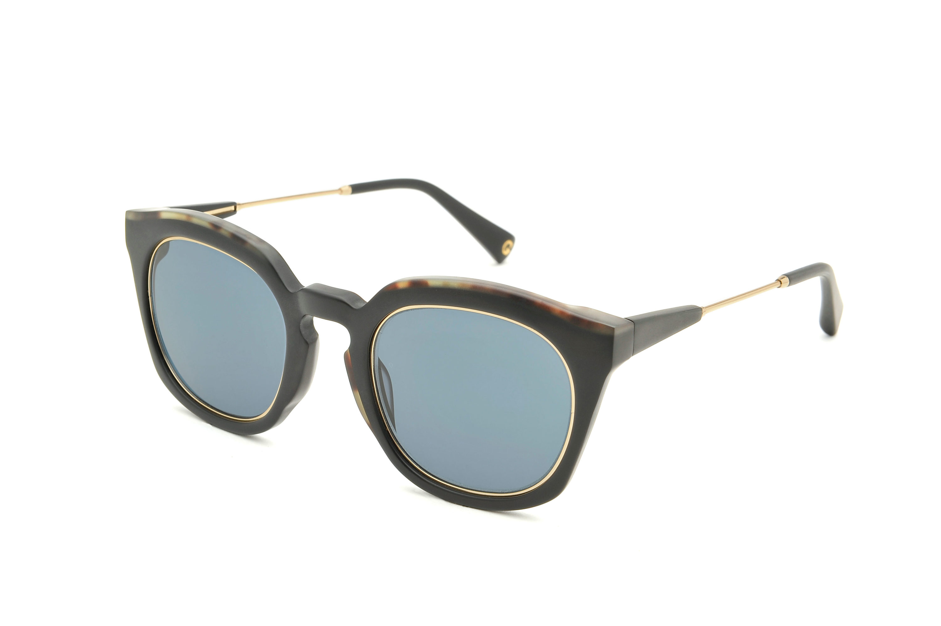 Thierry acetate squared black sunglasses by GIGI Studios