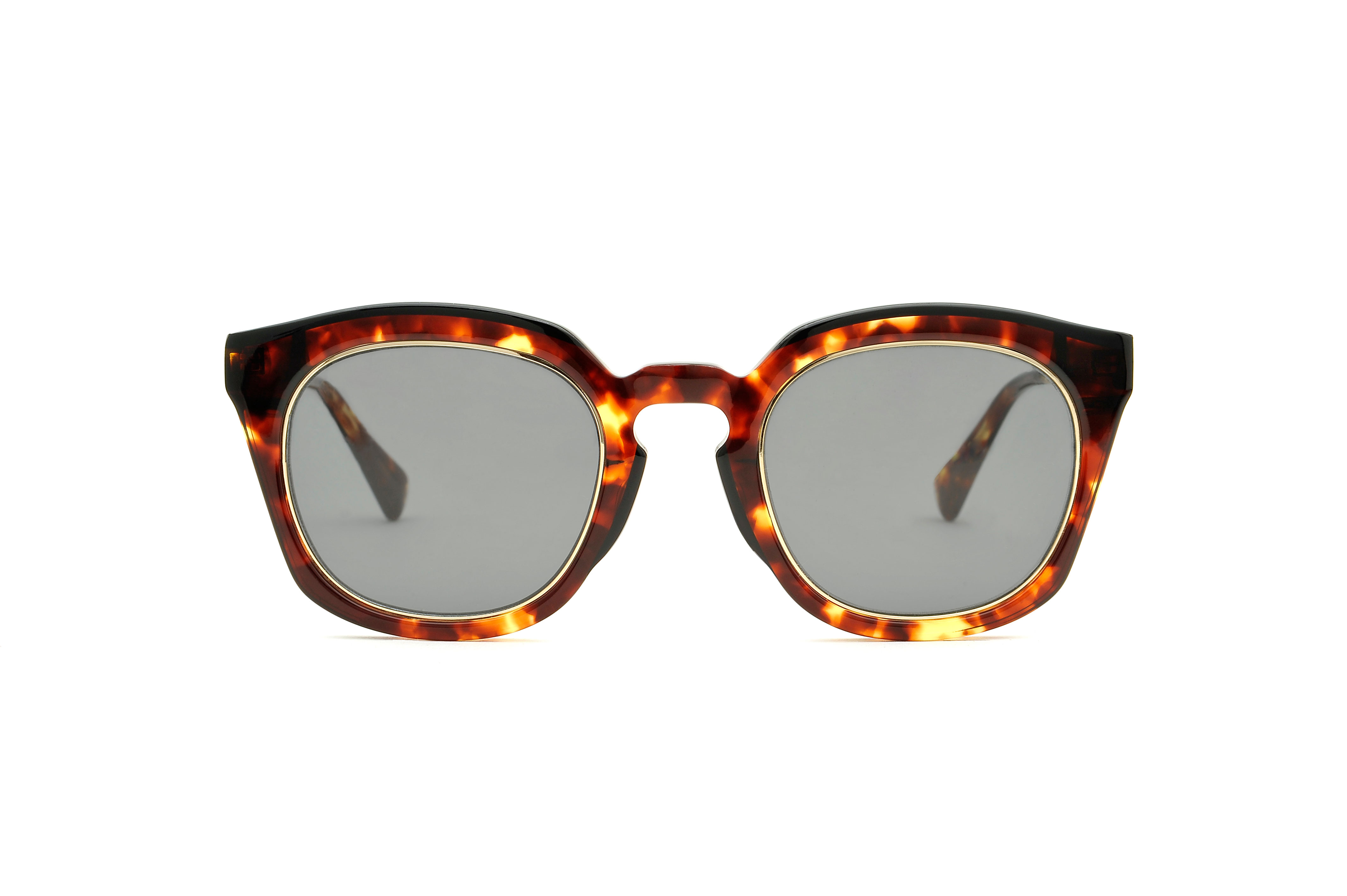 Thierry acetate squared tortoise sunglasses by GIGI Studios