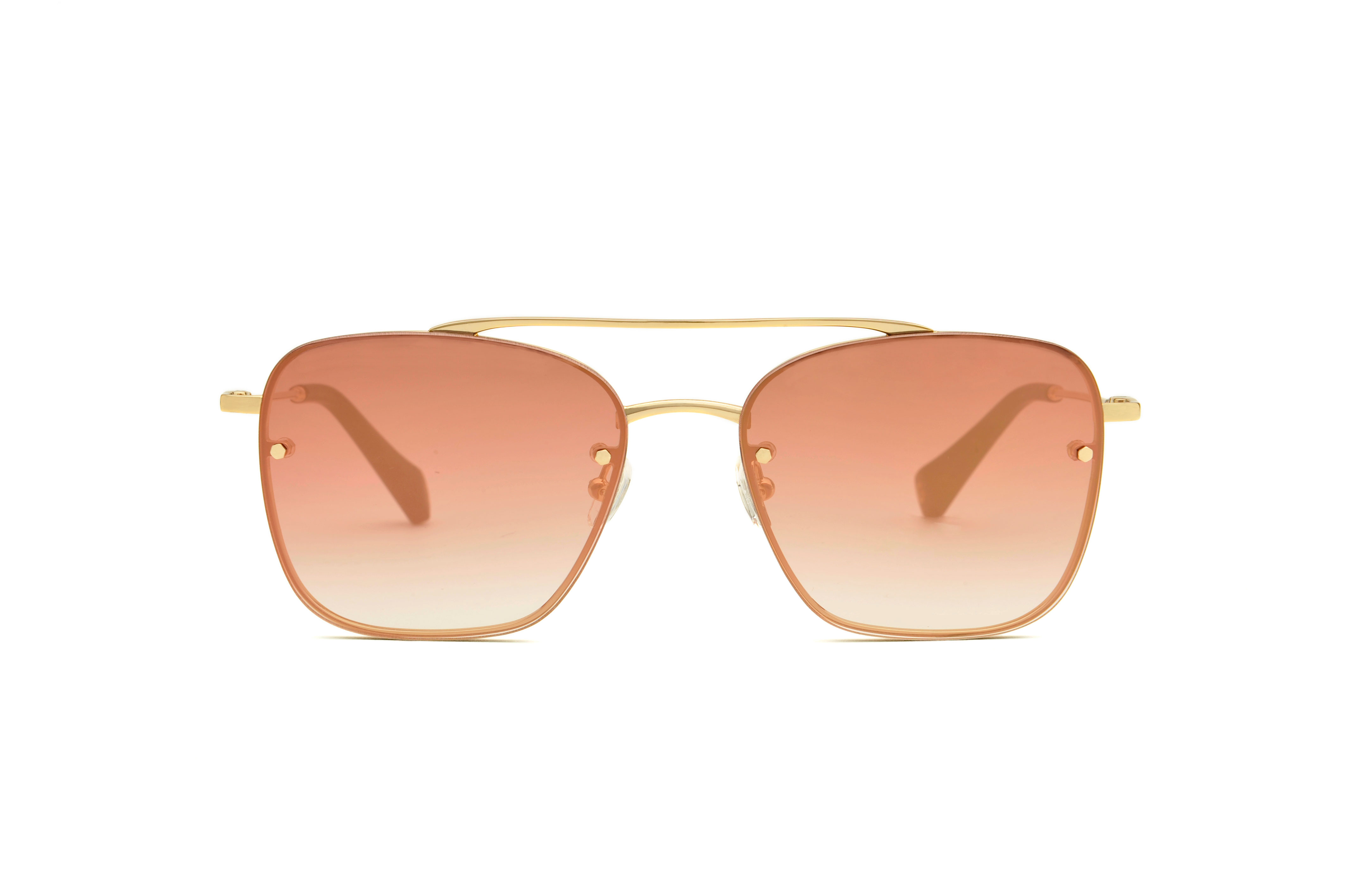 Apolo metal aviator gold sunglasses by GIGI Studios