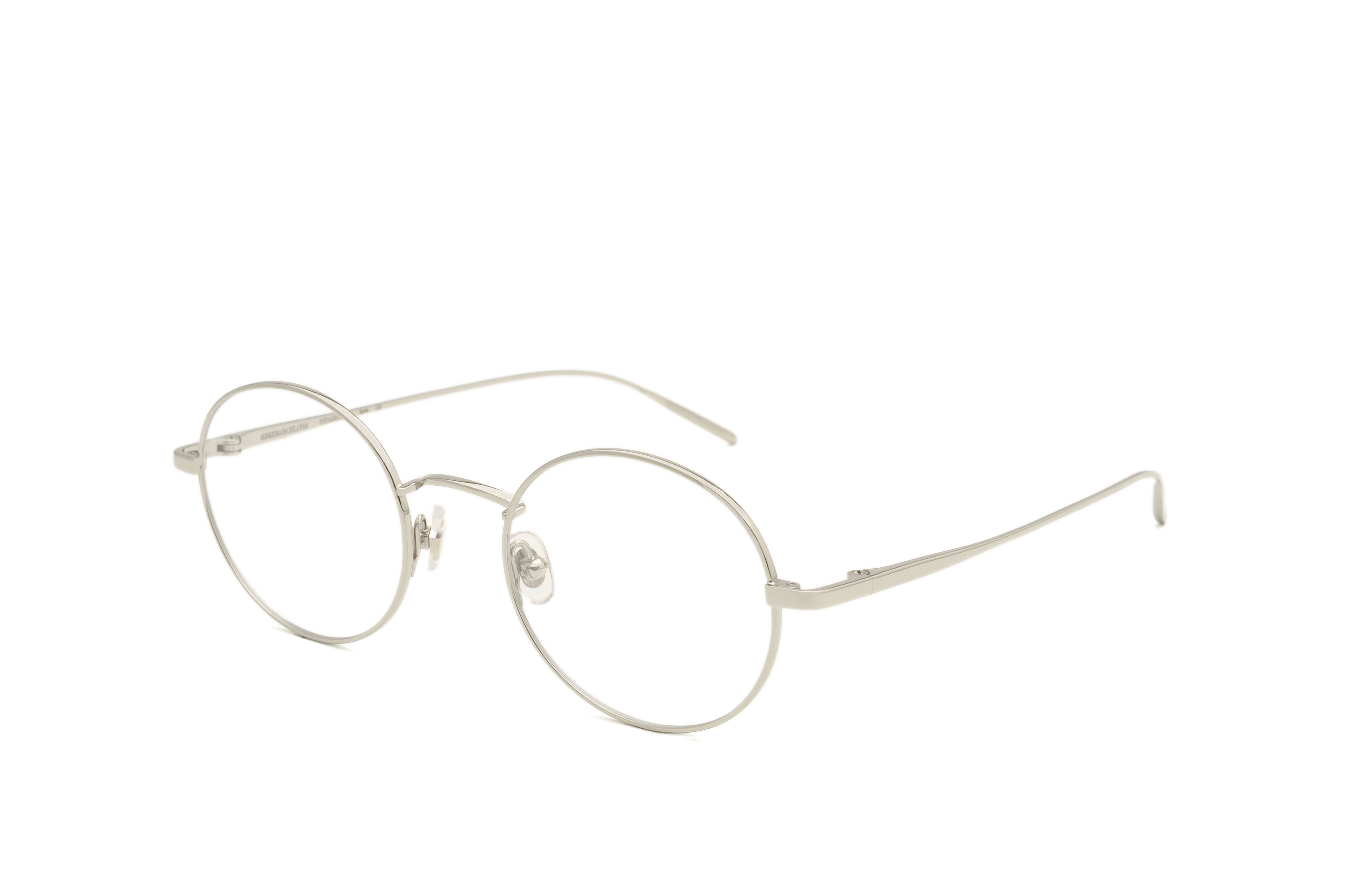 Tokyo metal rounded silver sunglasses by GIGI Studios