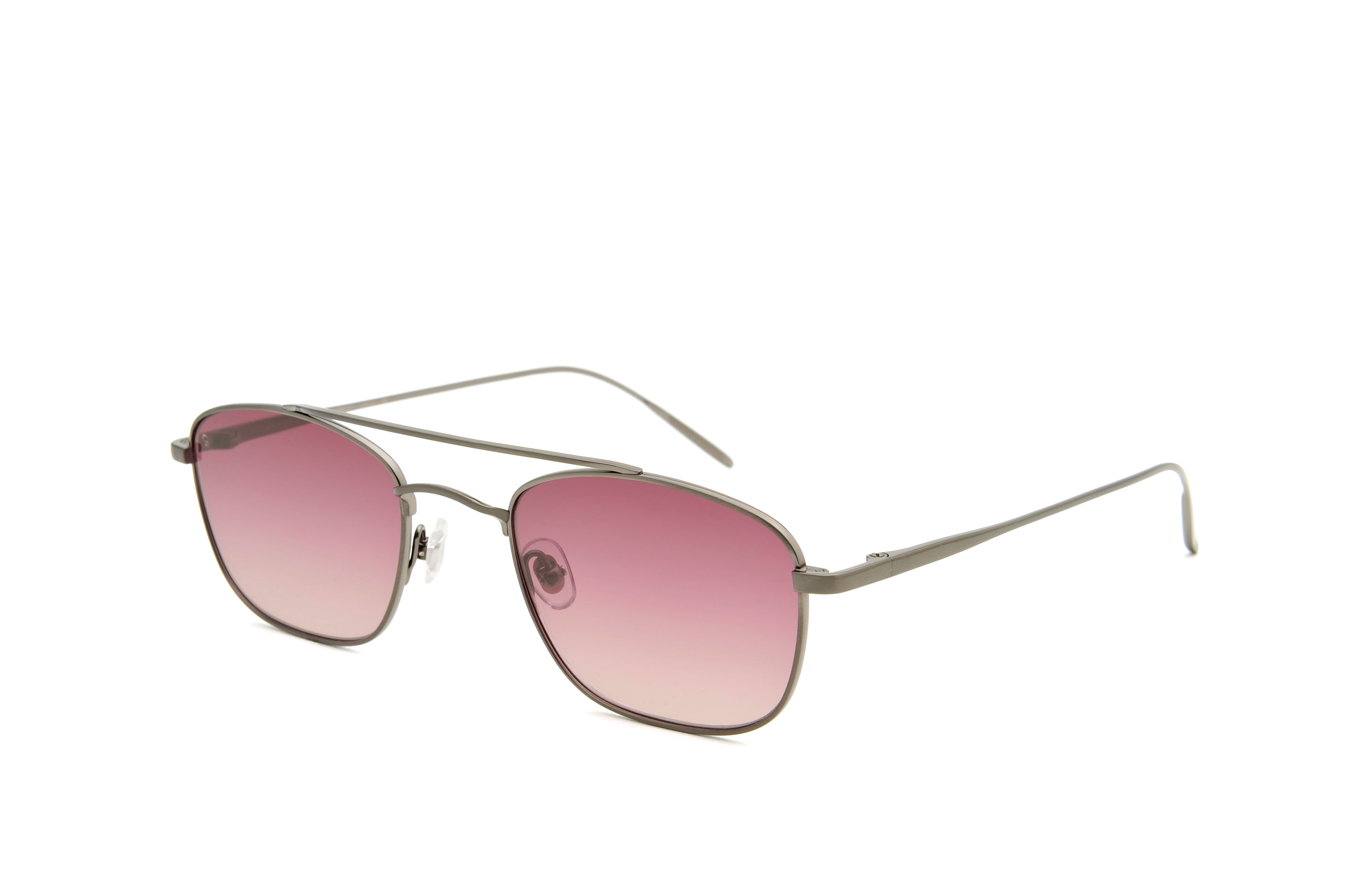 New York metal aviator gun sunglasses by GIGI Studios