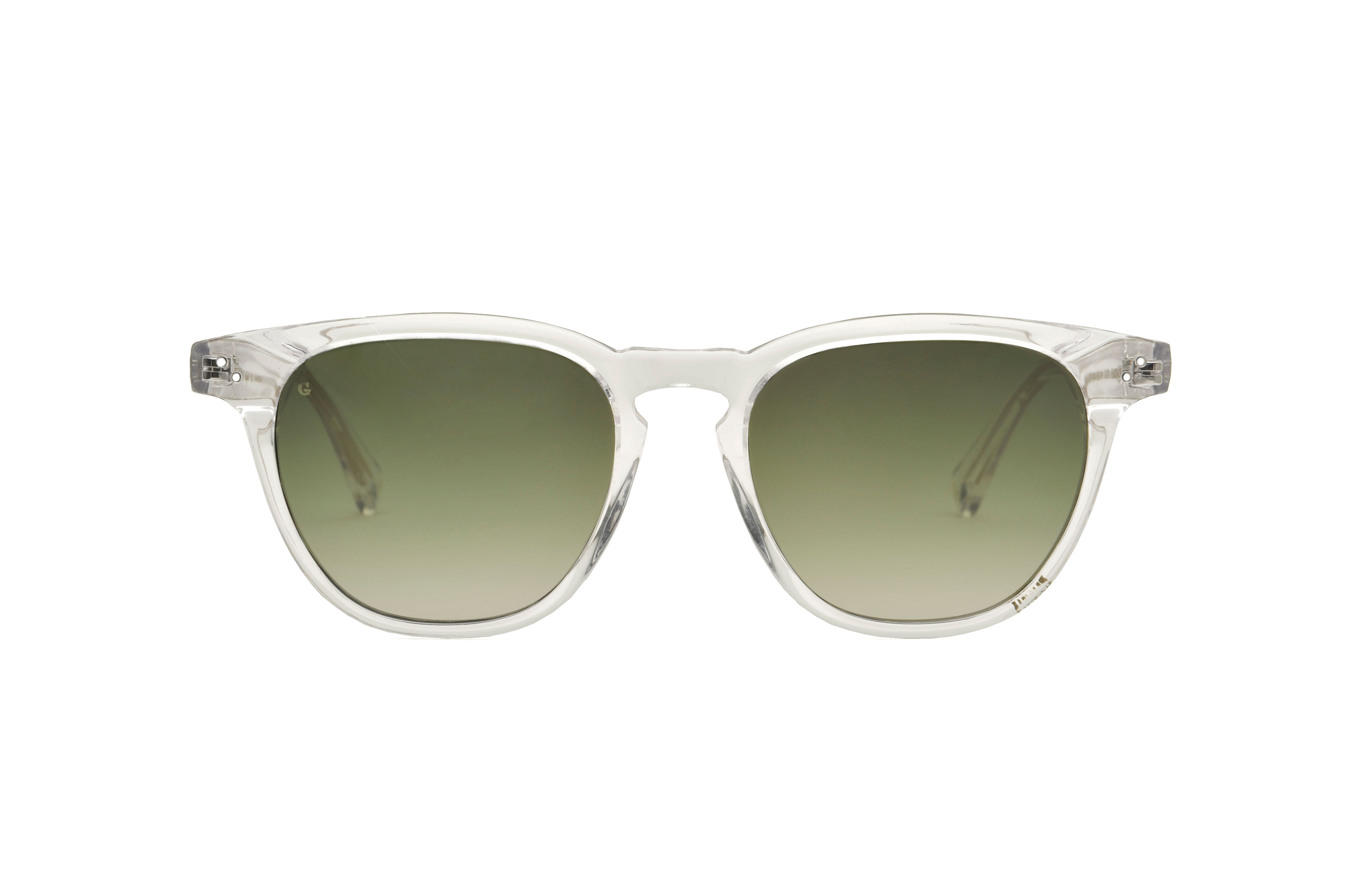 Larry acetate squared crystal sunglasses by GIGI Studios