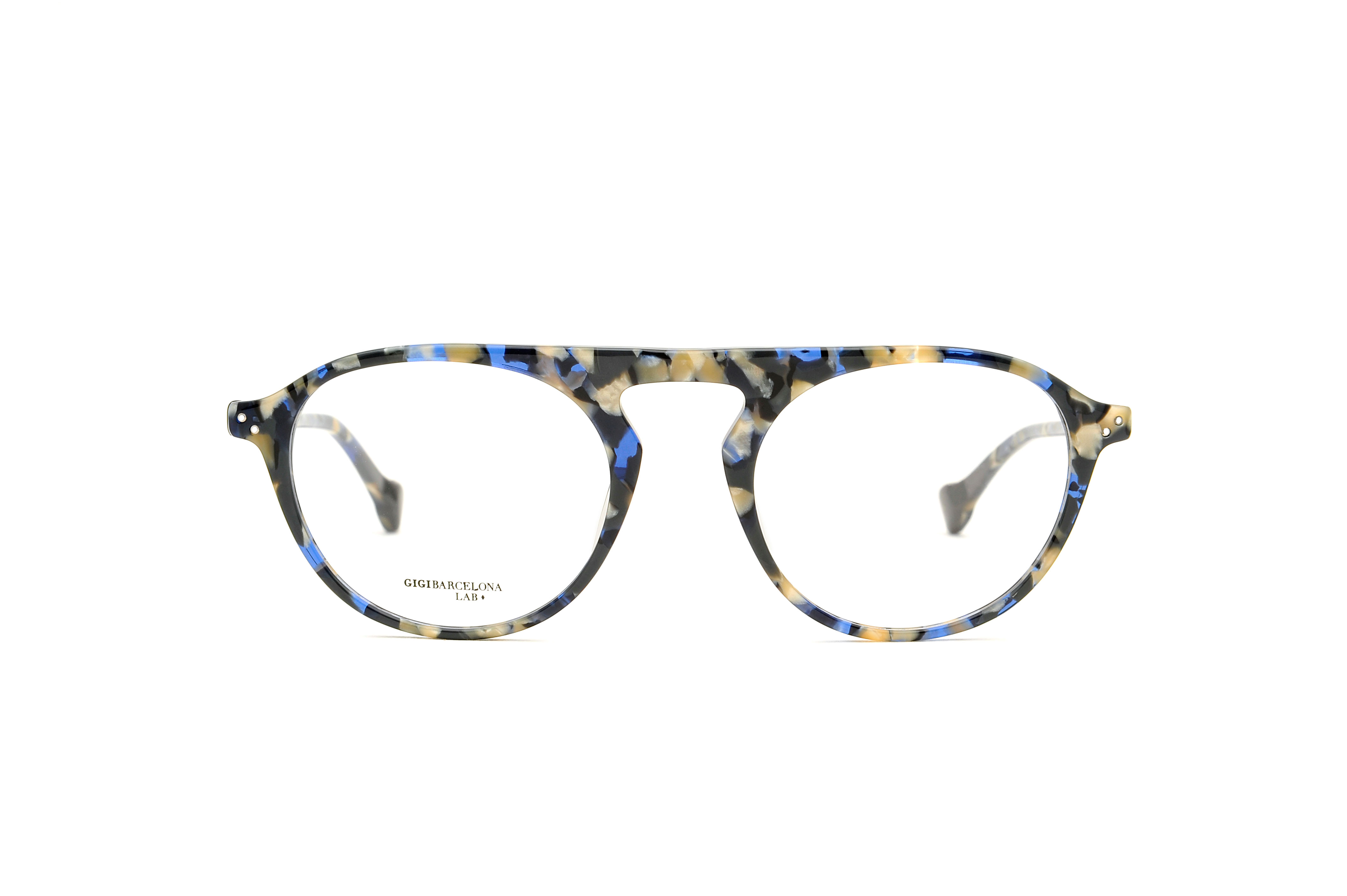 Weekend acetate aviator blue sunglasses by GIGI Studios