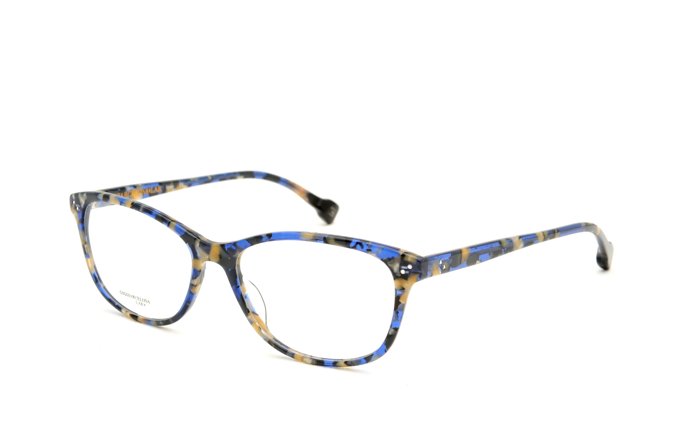 Meryl acetate cat eye blue sunglasses by GIGI Studios