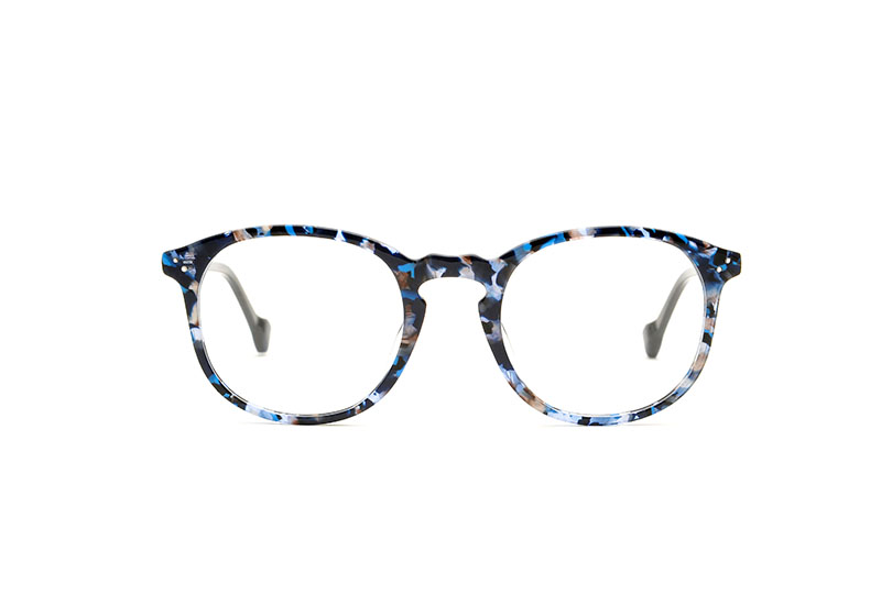 Paradise acetate rounded blue sunglasses by GIGI Studios