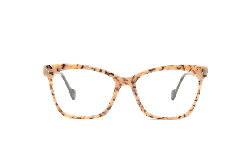 Future acetate cat eye brown sunglasses by GIGI Studios