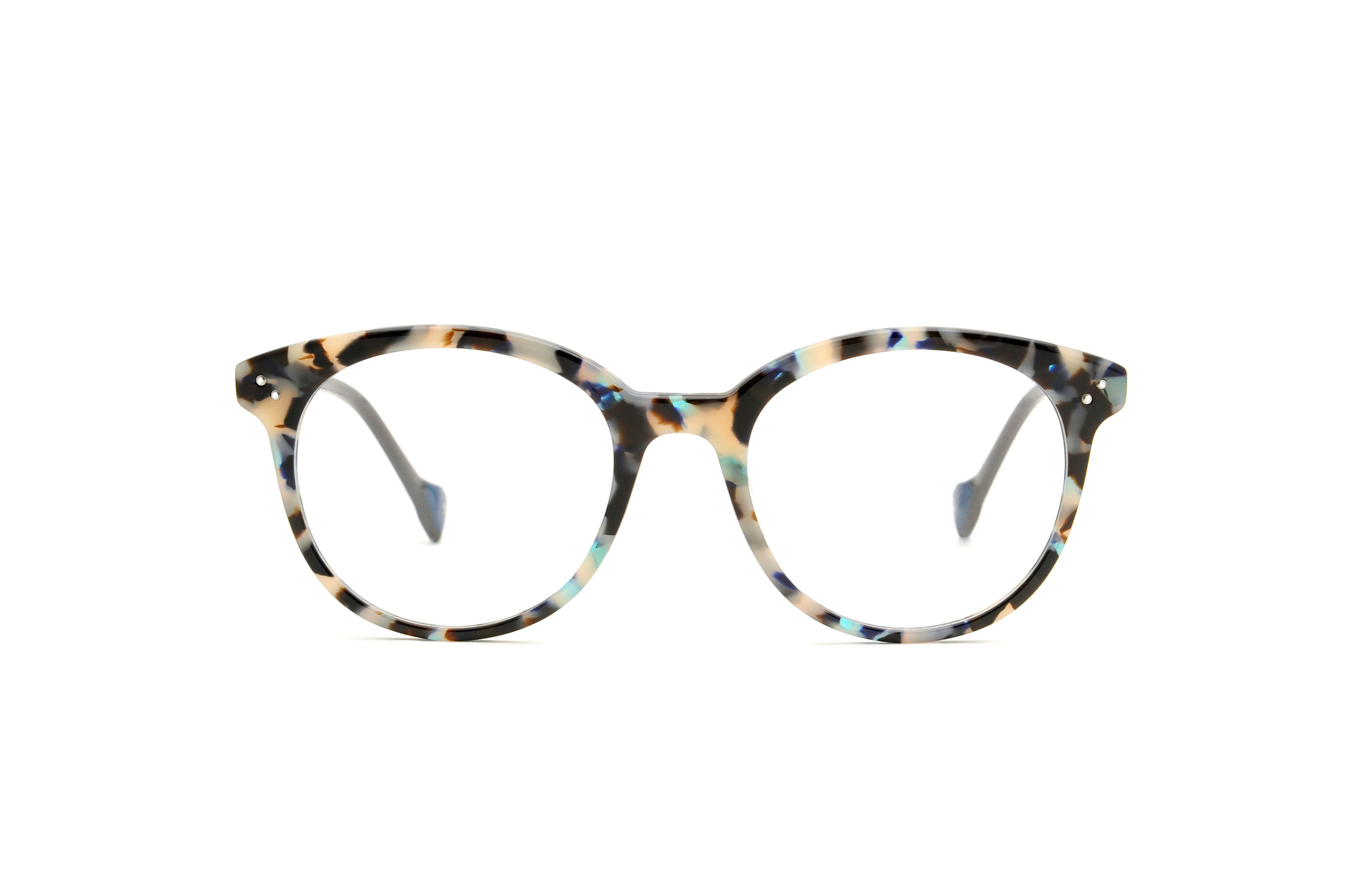 Mitra acetate rounded tortoise sunglasses by GIGI Studios