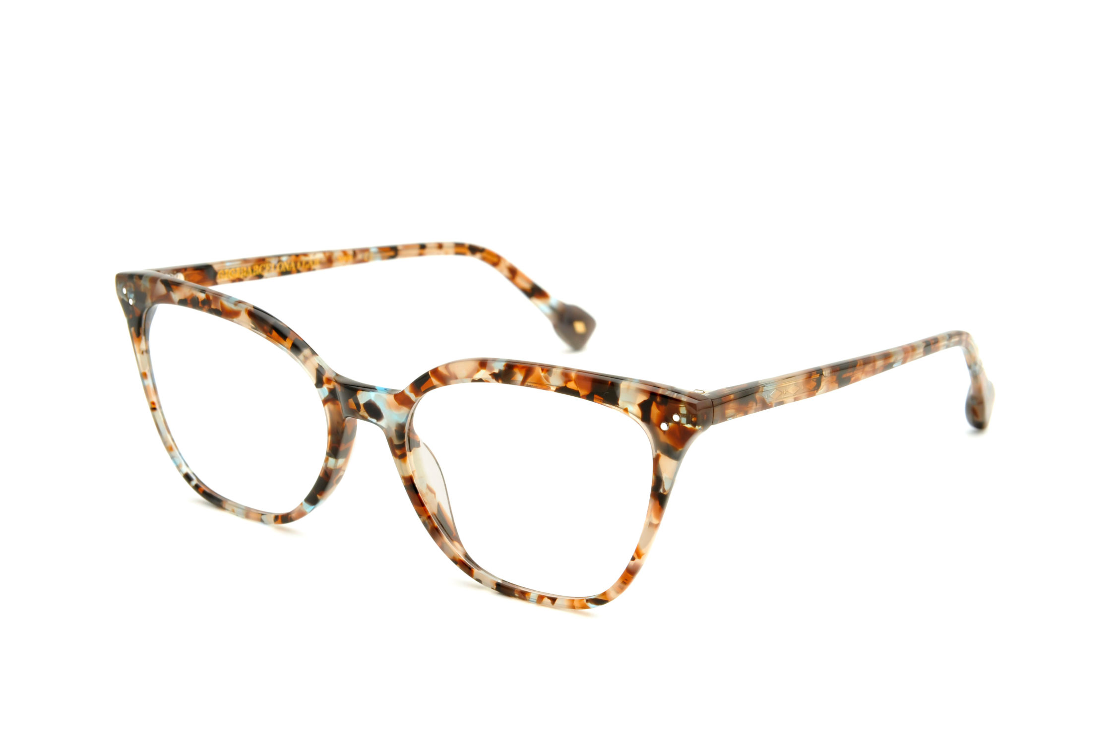 Karla acetate cat eye tortoise sunglasses by GIGI Studios