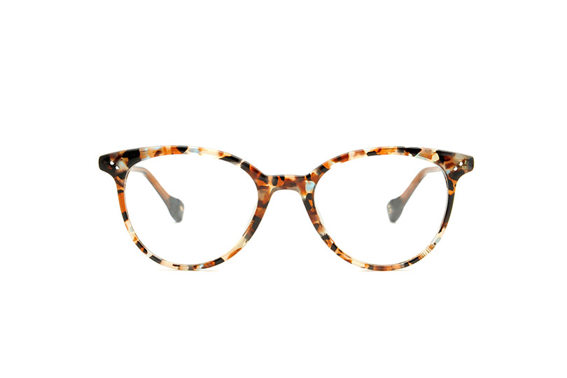 Katherine acetate cat eye tortoise sunglasses by GIGI Studios