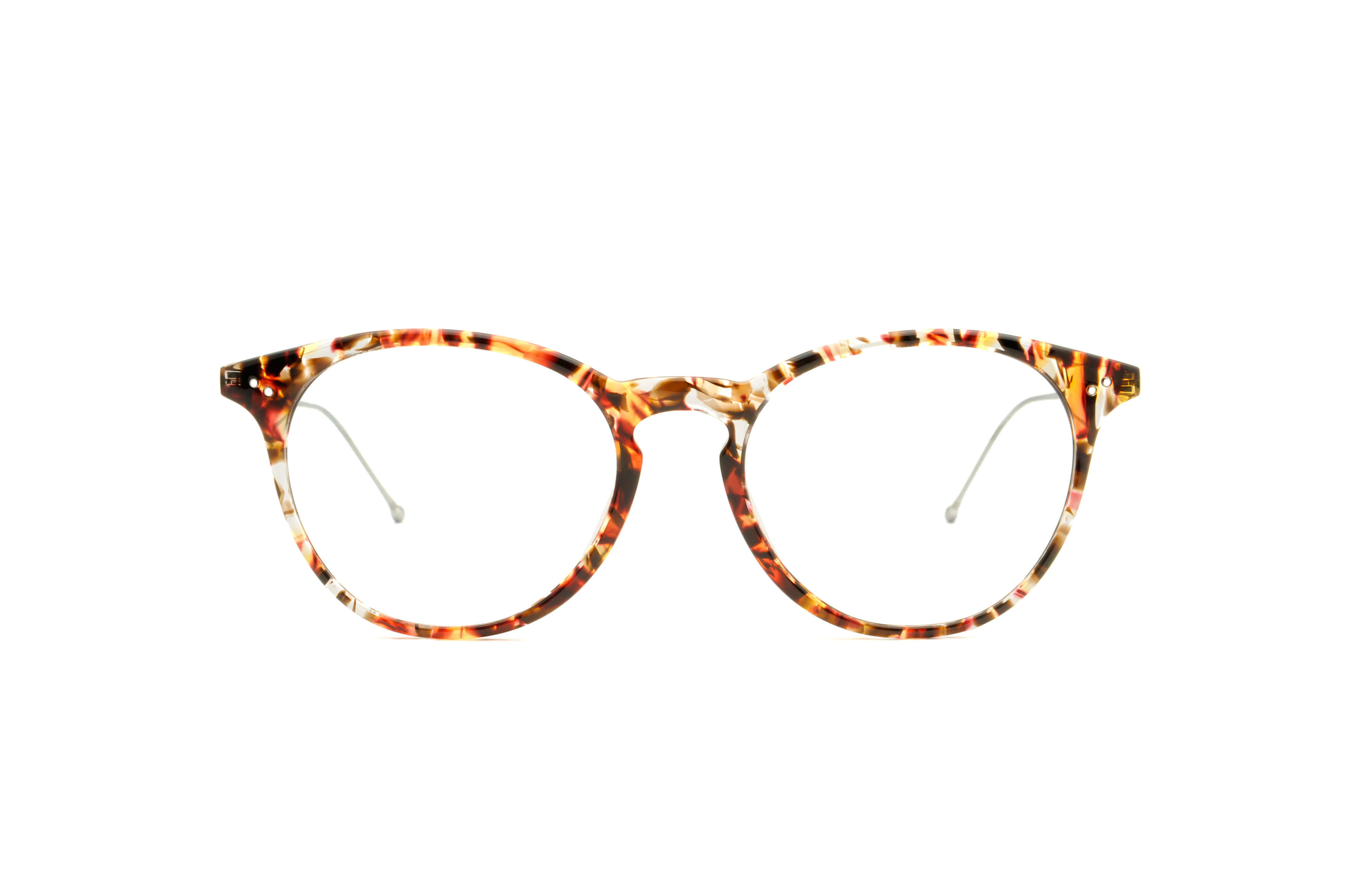 Flow acetate rounded tortoise sunglasses by GIGI Studios
