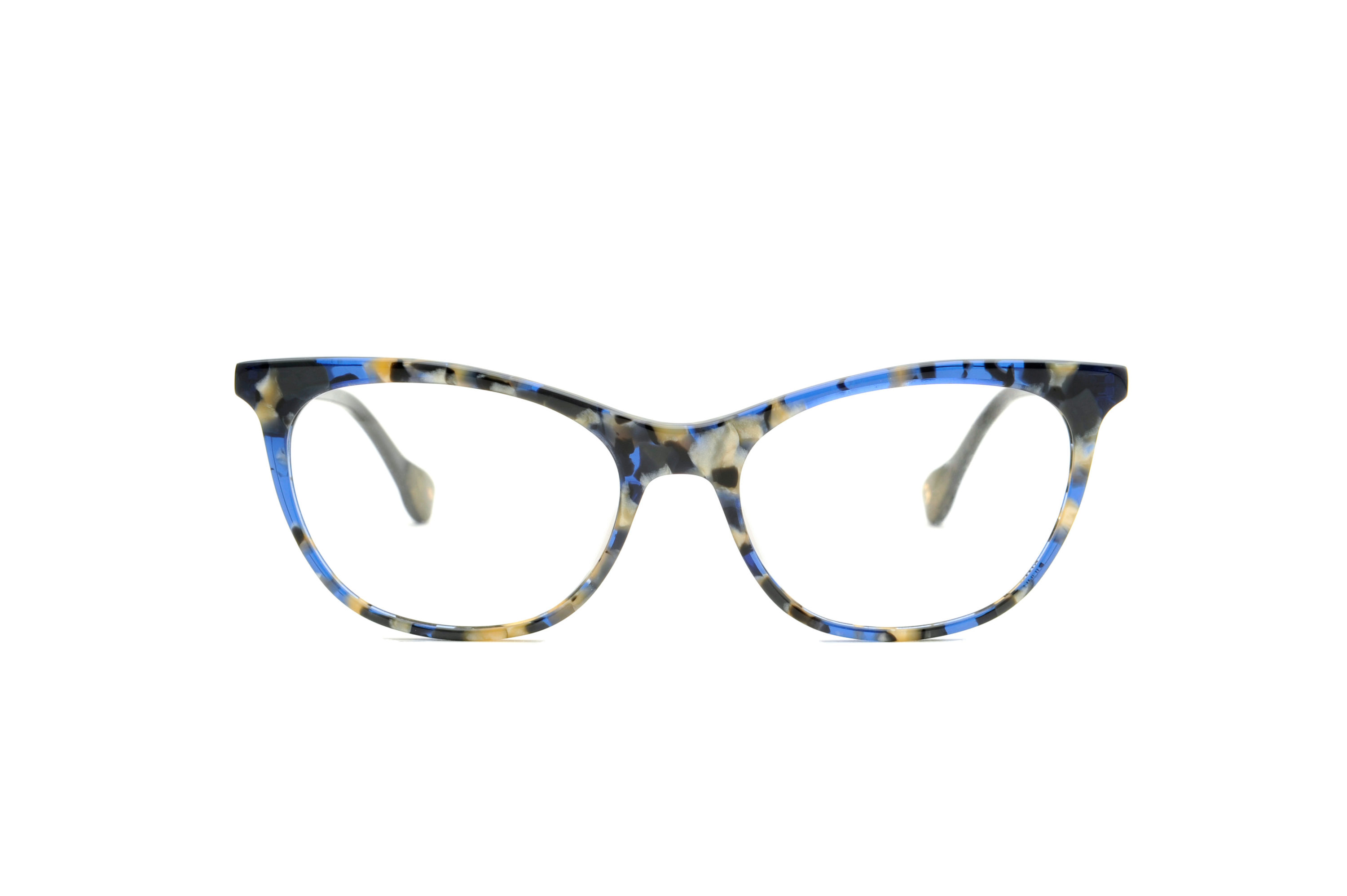 Diana acetate cat eye blue sunglasses by GIGI Studios