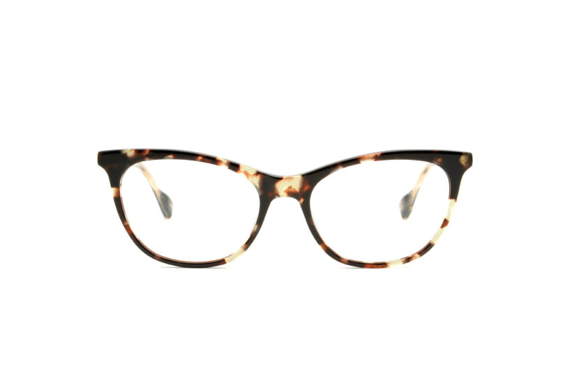 Diana acetate cat eye brown sunglasses by GIGI Studios