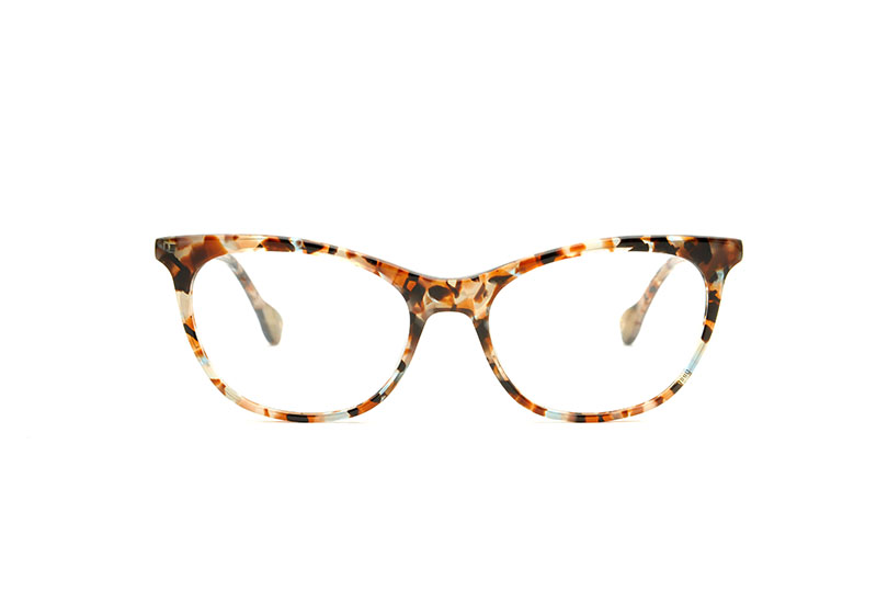Diana acetate cat eye tortoise sunglasses by GIGI Studios