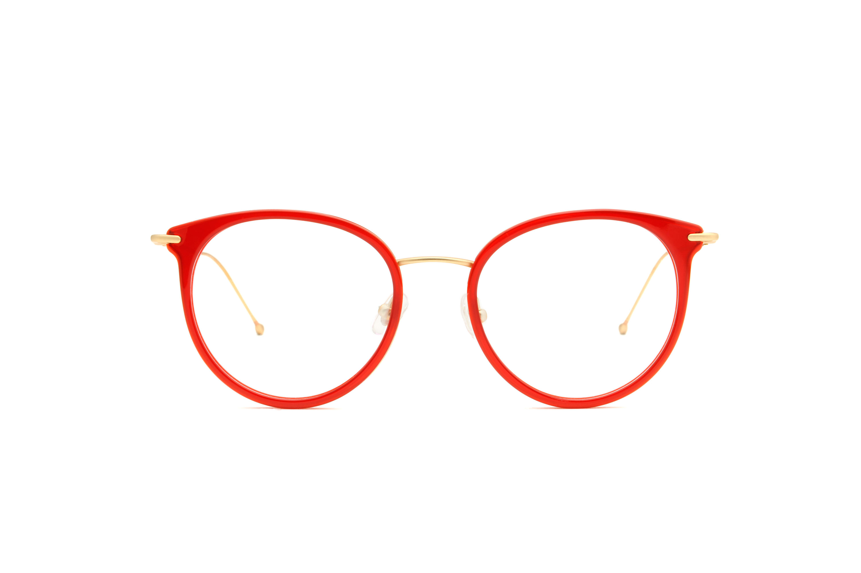 Rythm acetate/metal cat eye red sunglasses by GIGI Studios