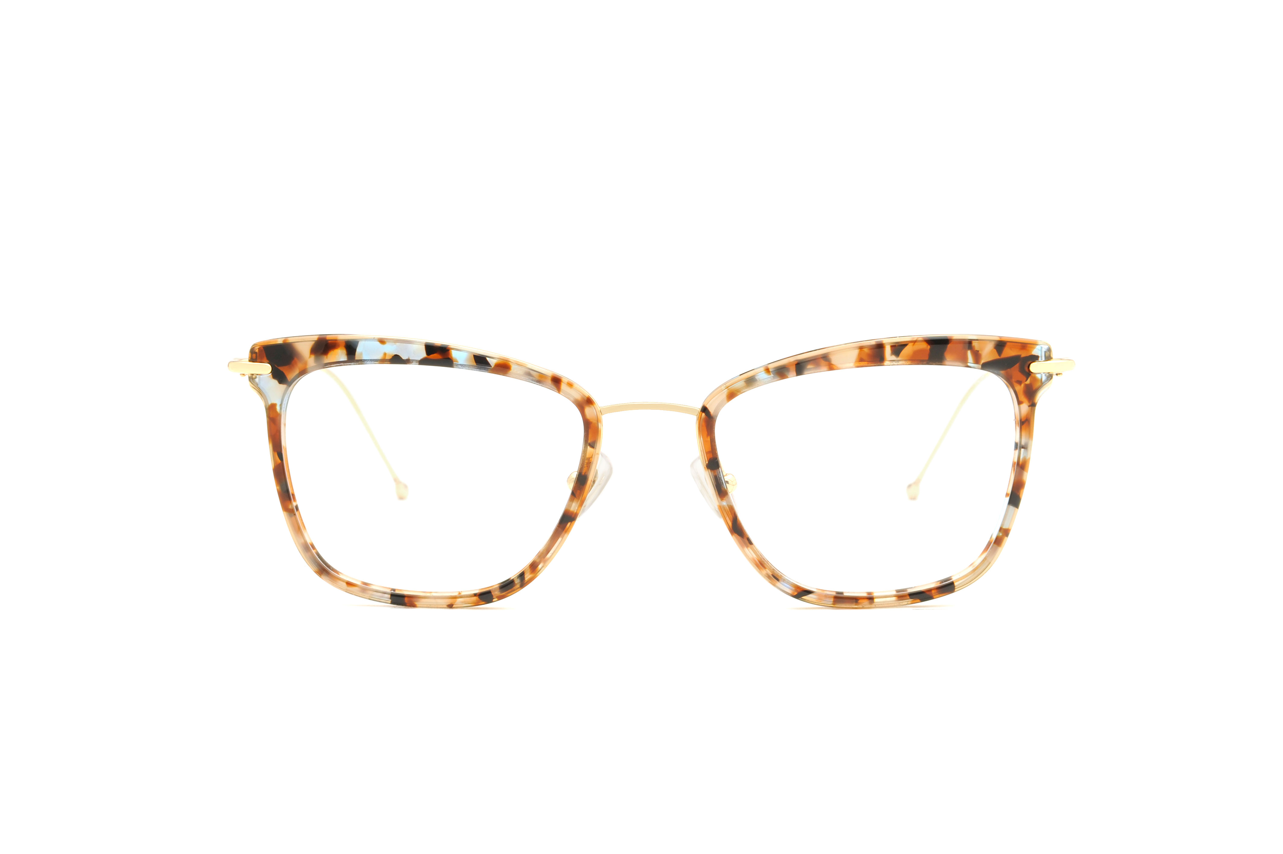 June acetate/metal cat eye tortoise sunglasses by GIGI Studios